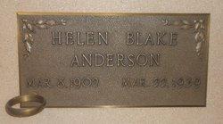 Helen <I>Blake</I> Anderson