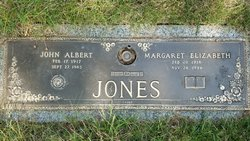 Margaret Elizabeth <I>Corbin</I> Jones