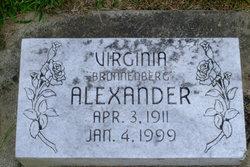 Virginia Laura <I>Bronnenberg</I> Alexander
