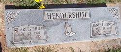 Janie Lucinda <I>Youtsey</I> Hendershot