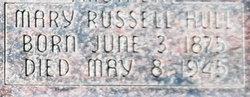 Mary <I>Russell</I> Hull