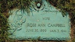Rose Ann <I>Beckett</I> Campbell