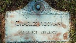 Charles Henry Ackman