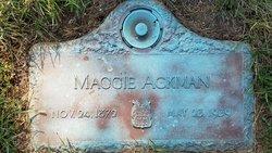Maggie <I>Kennedy</I> Ackman
