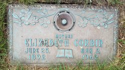 Elizabeth <I>Gillespie</I> Corbin
