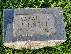 Sarah Jane Duff <I>Bradshaw</I> Bennett