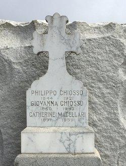 Giovanna <I>Moscone</I> Chiosso