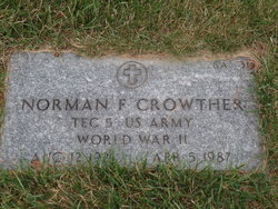 Norman F Crowther