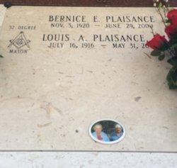 Bernice <I>Esponge</I> Plaisance