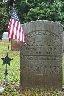 Pvt Thomas Mason
