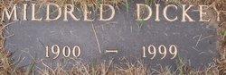 Mildred Maud <I>White</I> Dickey
