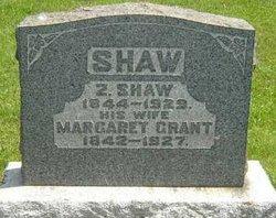 Margaret <I>Grant</I> Shaw
