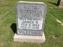 "Harriet P ""Hattie"" <I>Green</I> Wilkerson"