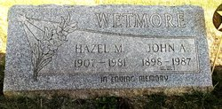 John A Wetmore