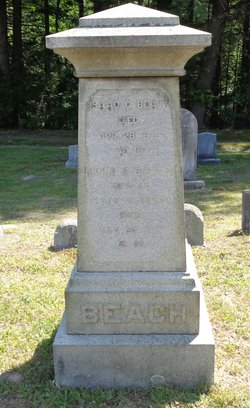 Maria E. <I>Beecher</I> Beach