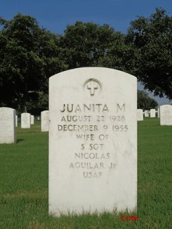 Juanita M Aguilar