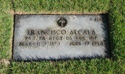 PVT Francisco Alcalá