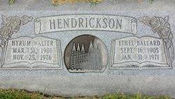 Hyrum Hendrickson