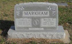 "Charles Oral ""Charley"" Markham"