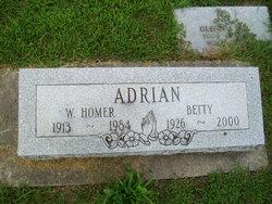 Betty Jane <I>Wendell</I> Adrian
