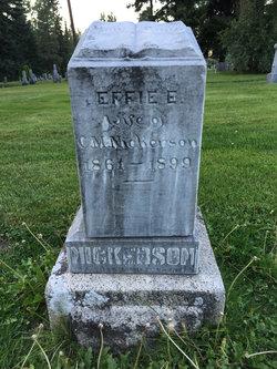 Effie Elsie <I>Patterson</I> Nickerson