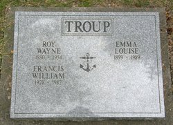 Emma Louise <I>Sherman</I> Troup