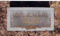 """Mary Temperance Irene """"Tempie"""" <I>Jackson</I> Berry"""