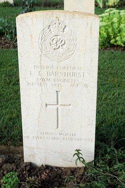 CPL Leslie Ernest Barnhurst
