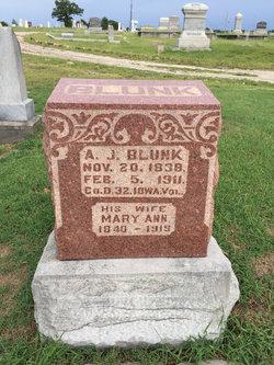 Mary Ann <I>Arrasmith</I> Blunk