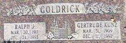 Ralph Warren Joseph Goldrick