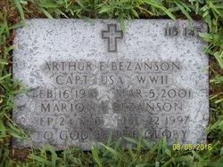 Marion Esther <I>Ackerman</I> Bezanson