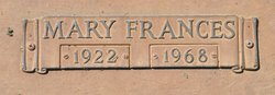 Mary Frances <I>Smith</I> Billa