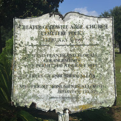 Greater Goodwill AME Church Cemetery