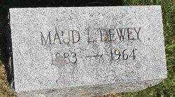 Maude <I>Ludington</I> Dewey
