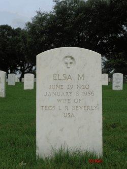Elsa M Beverly