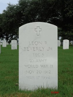 Leon R Beverly, Jr