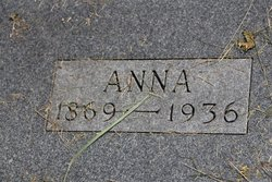 Anna Augusta <I>Pitzrick</I> Anacker