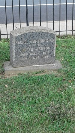 Rachel <I>Worthington</I> Ashton
