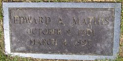 Edward Albert Mathis