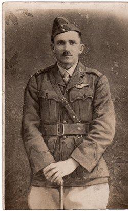 Second Lieutenant Nicholas Vincent Clarke