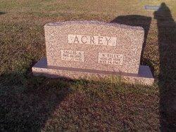 Sallie A. <I>Hobson</I> Acrey