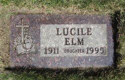 Lucile Marie Elm