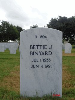 Bettie J Binyard