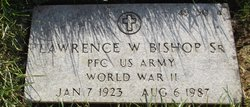 Lawrence W Bishop, Sr