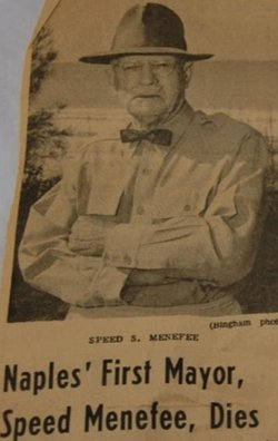Speed S. Menefee