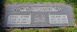 Ethel Lucinda <I>Stark</I> Montgomery