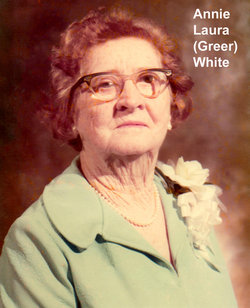 Annie Laura <I>Greer</I> White