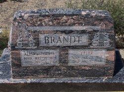 Alvina Louise <I>Thom</I> Brandt