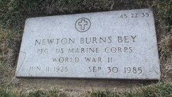 Newton Burns Bey