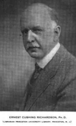 Ernest Cushing Richardson